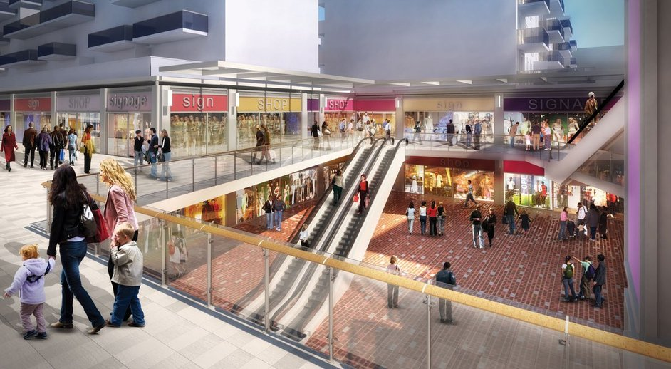 London designer outlet images for Outlet design