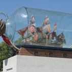 Yinka Shonibare: Nelson's Ship in a Bottle