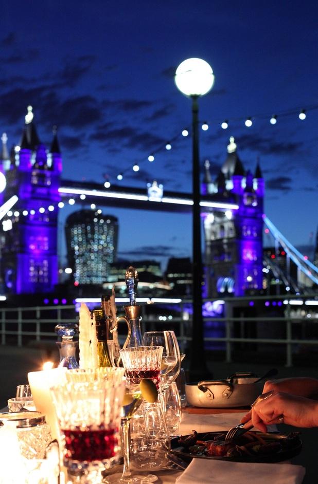 Butler's Wharf Blackout Banquet