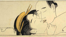 Shunga: Sex and Pleasure in Japanese Art - Torii Kiyonaga, detail taken from Sode no maki (Handscroll for the Sleeve), c.1785 by he Trustees of the British Museum