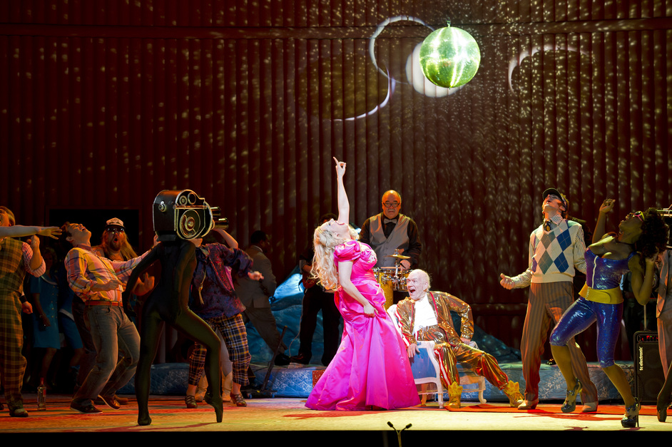 The Royal Opera: Anna Nicole - Eva-Maria Westbroek as Anna Nicole, photo copyright ROH / Bill Cooper 2011
