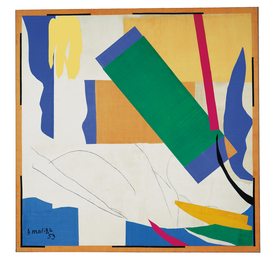 Henri Matisse: The Cut-Outs - Henri Matisse, Memory of Oceania 1952-3. Copyright Succession Henri Matisse/DACS2014