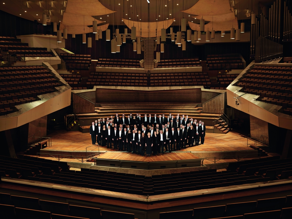 Prom 66: Bach - St Matthew Passion - Berliner Philharmoniker, photo copyright Sebastian Haenel/Berliner Philharmoniker