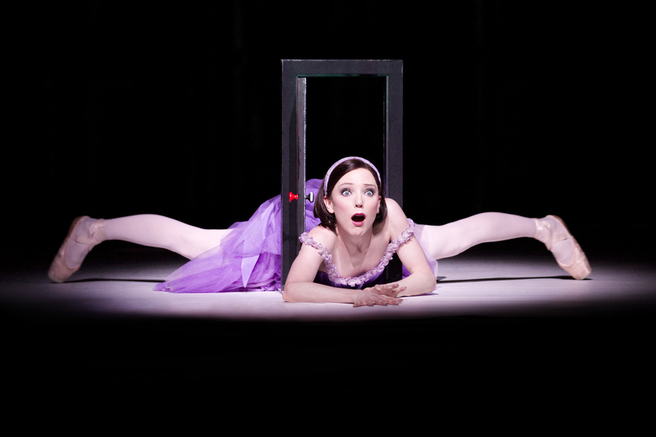 The Royal Ballet: Alice's Adventures in Wonderland - Sarah Lamb as Alice, copyright ROH / Johan Persson, 2011