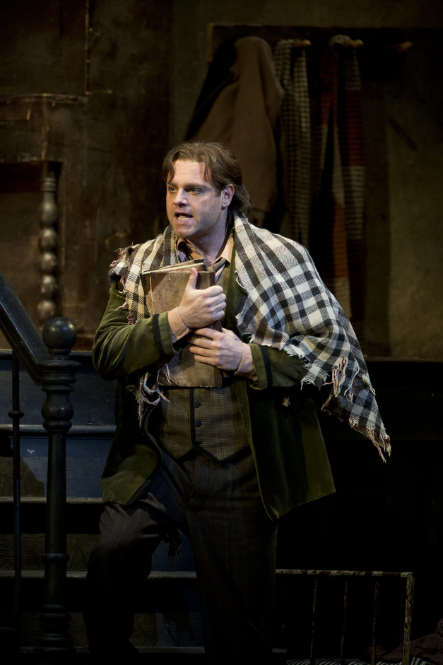 Royal Opera: La Boheme - Calleja as Rodolfo, copyright Cooper