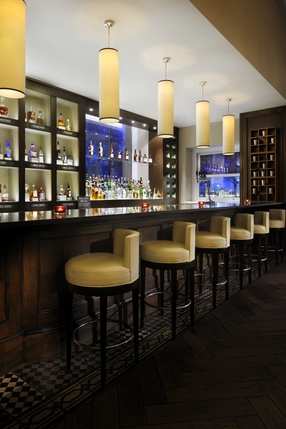 Bourbon Bar at JW Steakhouse