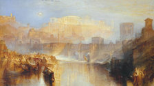 Late Turner: Painting Set Free - JMW Turner, Ancient Rome; Agrippina Landing with the Ashes of Germanicus