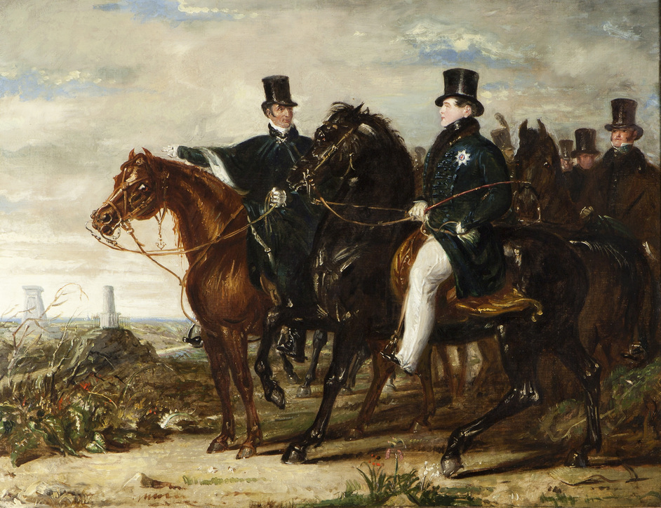 Wellington: Triumphs, Politics and Passions - The Duke of Wellington and the Prince Regent (c) Stratfield Saye Preservation