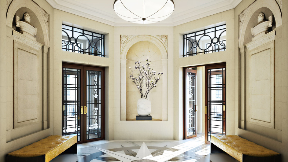 Four Seasons Hotel London at Ten Trinity Square - Image courtesy of Reignwood Group