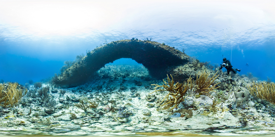 Coral Reefs: Secret Cities of the Sea - Tarpon Bridge, Curacao, Caribbean (c) Catlin Seaview Survey