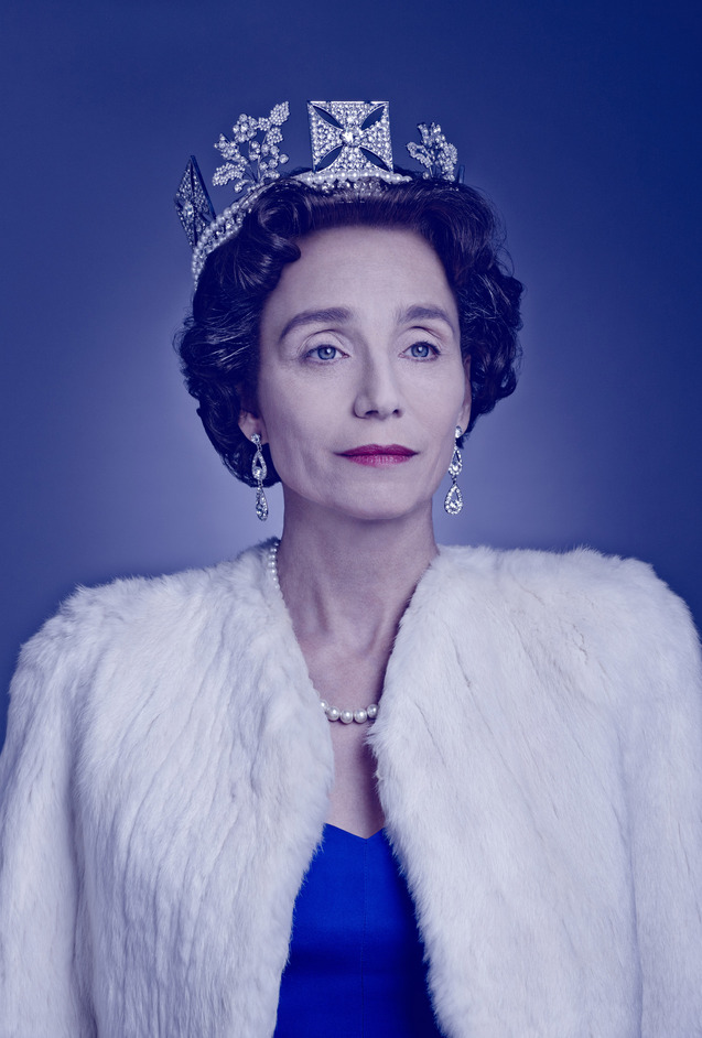 The Audience - Kristin Scott Thomas as The Queen in The Audience. Photo: Jason Bell