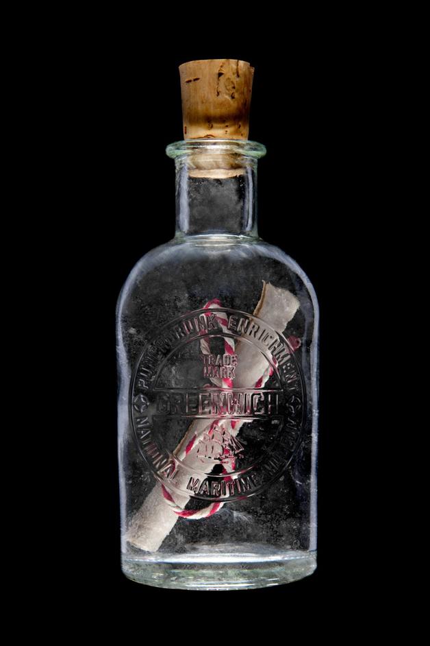 Against Captain's Orders: A Journey Into The Uncharted - Message in a bottle © Stephen Dobbie