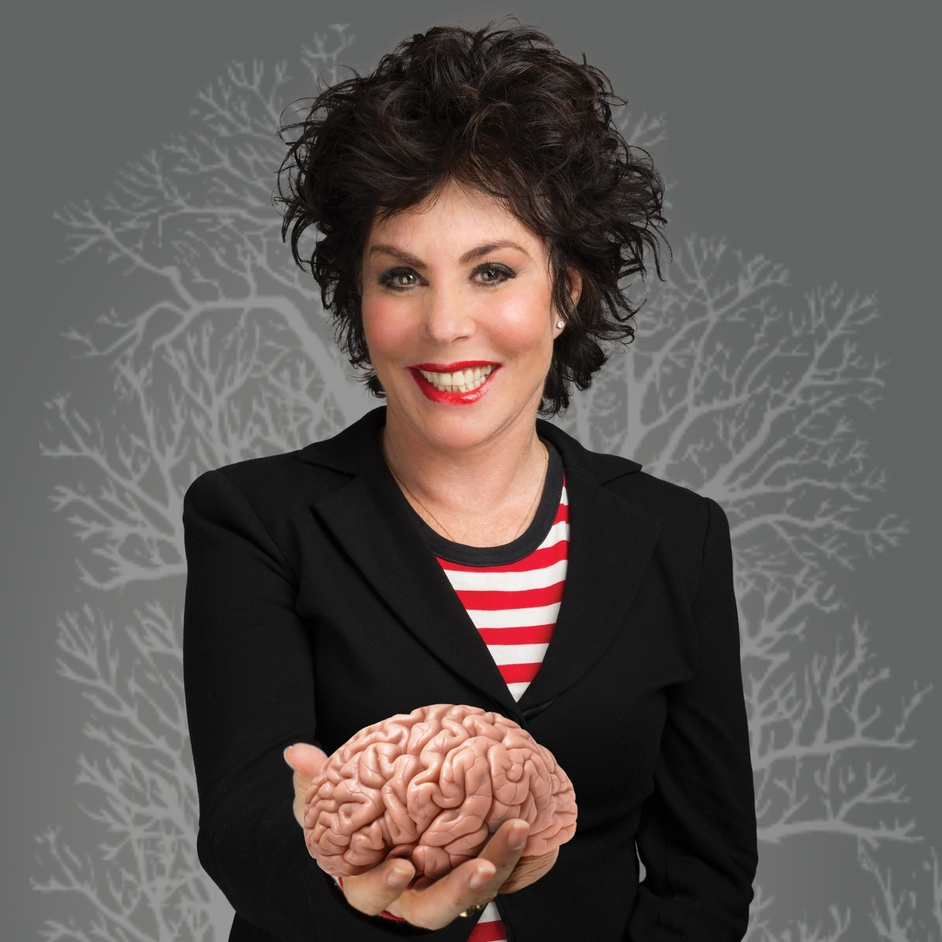 Ruby Wax: Sane New World - Ruby Wax. Photo: Steve Ullathorne