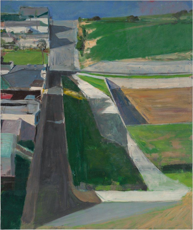 Richard Diebenkorn - Richard Diebenkorn, Cityscape #1, 1963 (c) 2014 The Richard Diebenkorn Foundation