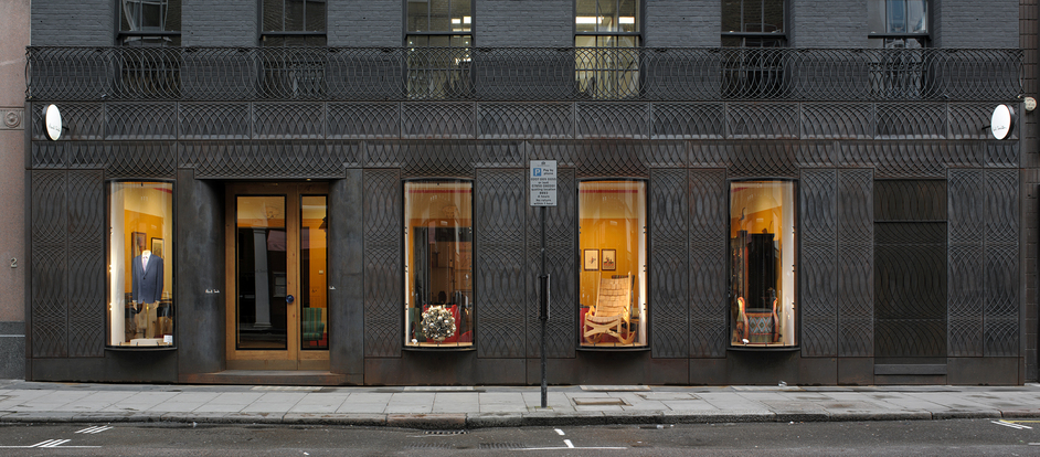 Designs of the Year 2014 - Facade for Paul Smith, Albemarle Street, London. Designed by 6a Architects
