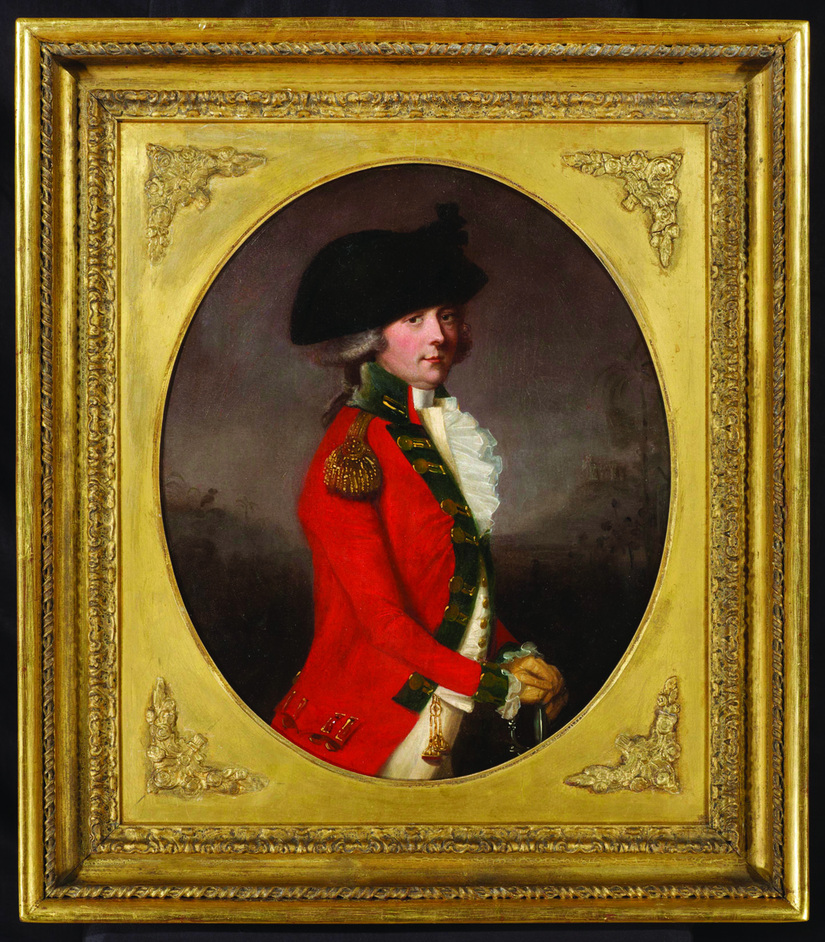 Chelsea Antiques Fair - Nicholas Bagshawe, Portrait of General Sir Thomas Bowser by Thomas Hickey, Chelsea Antiques Fair