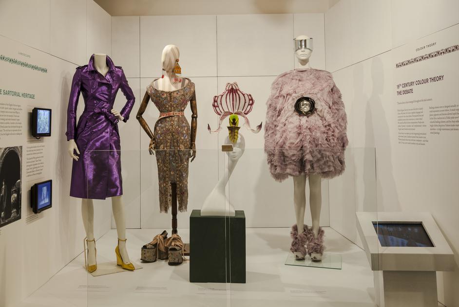 Fashion & Gardens - Burberry, Westwood, Treacy Orhcid Hat, Mcqueen ©Jayne Lloyd/Garden World Images