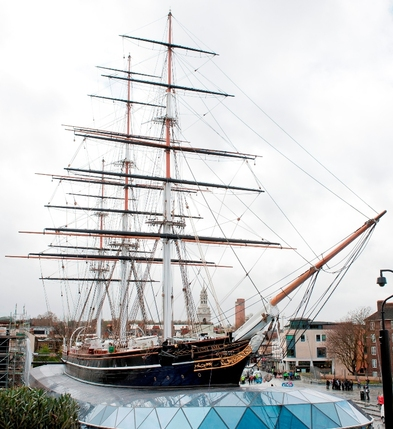 Easter Egg Hunt at Cutty Sark