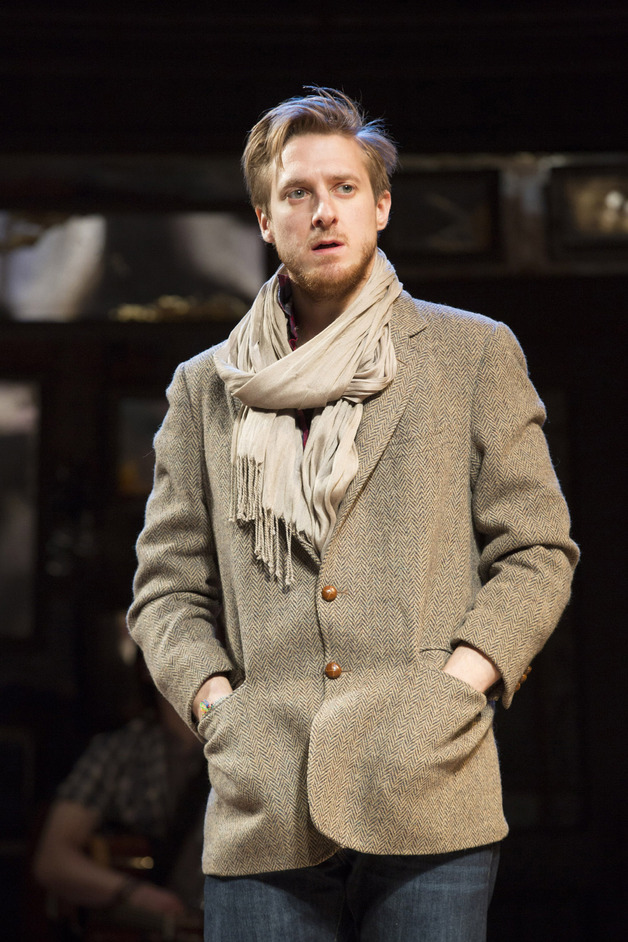 Once - Arthur Darvill (Guy) in Once, photographer Joan Marcus