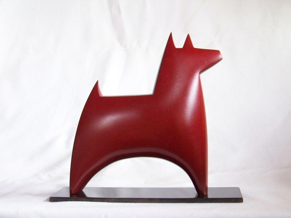 Chelsea Art Fair - Sheridan Russell - Stephen Page, Dog Star I, Bronze, Chelsea Art Fair