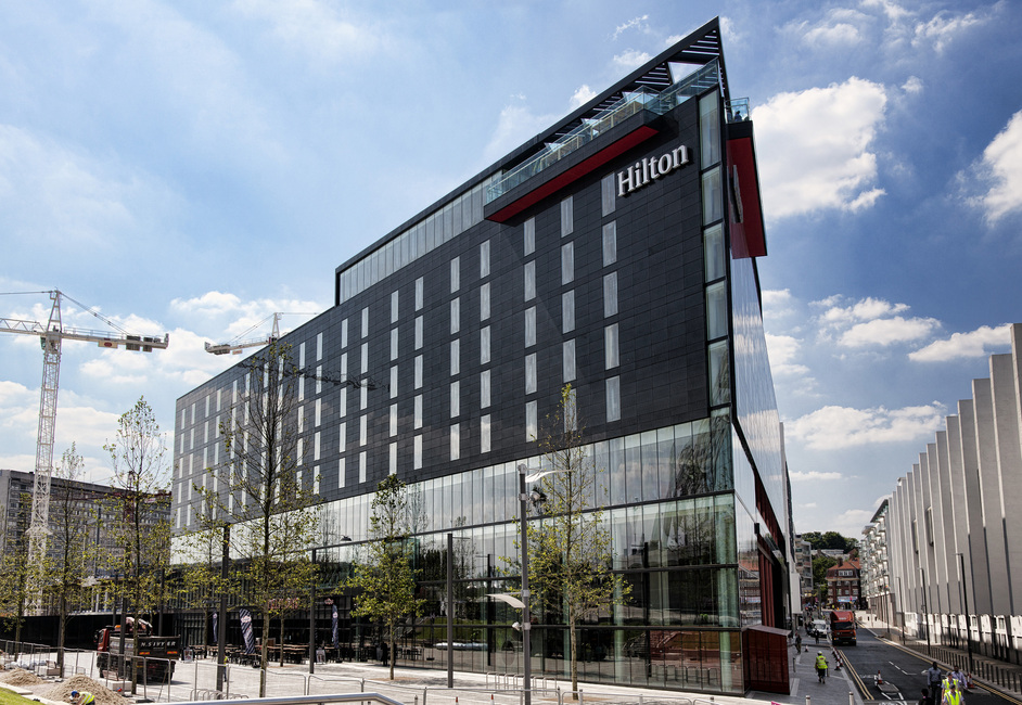 London Designer Outlet - Hilton London Wembley, image copyright of Wembley Park