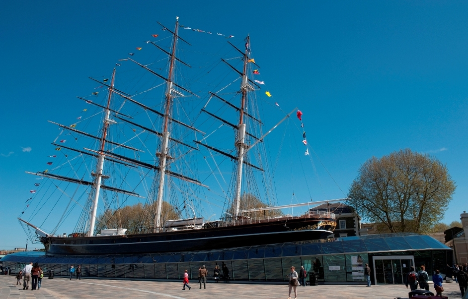 Easter Egg Hunt at Cutty Sark - image copyright National Maritime Museum, London