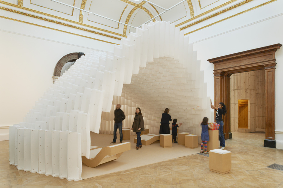 Sensing Spaces: Architecture Reimagined - Installation by Diebedo Francis Kere. Photo (c) Royal Academy of Arts, James Harris