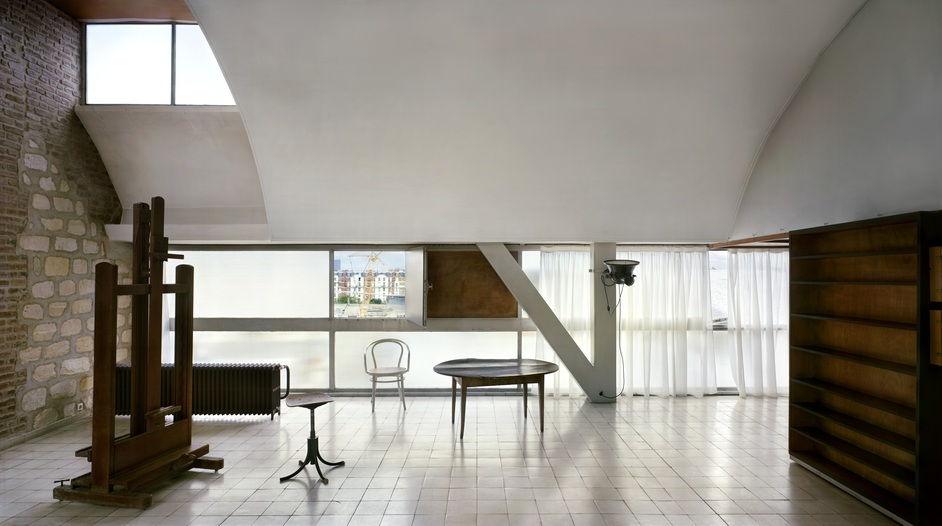 Richard Pare - Le Corbusier?s studio, rue Nungesser-et-Coli, Paris, 1931-34 © Richard Pare, 2012