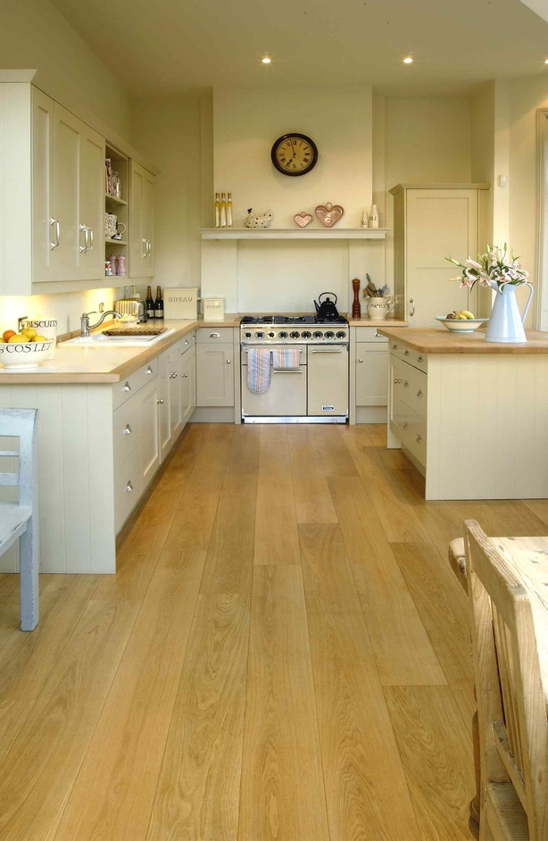 Natural wood floor company smugglers way london for Wood floors in kitchen