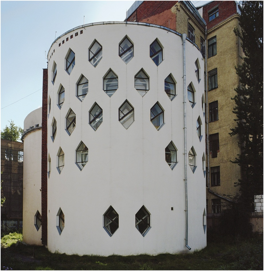 Richard Pare - Melnikov house 1927-31, Moscow, Russia. © Richard Pare