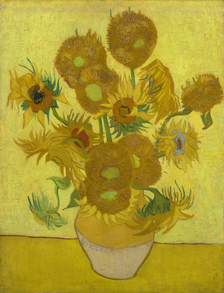 The Sunflowers - Vincent van Gogh (1853 - 1890) Sunflowers © Van Gogh Museum, Amsterdam