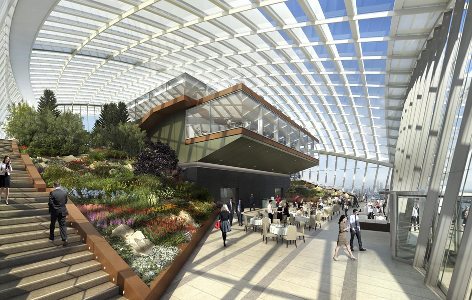 Sky Garden Fenchurch Street London Restaurants British
