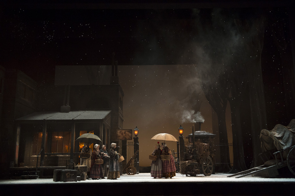 La Boheme - Production Image © Bill Cooper