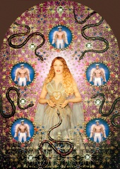 The Fashion World of Jean Paul Gaultier: From the Sidewalk to the Catwalk - The Virgin with the Serpents (Kylie Minogue) 2008 by Pierre et Gilles.