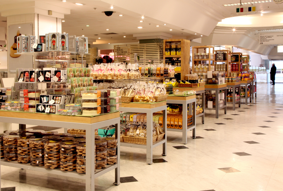 Selfridges Food Hall - Image courtesy of Selfridges
