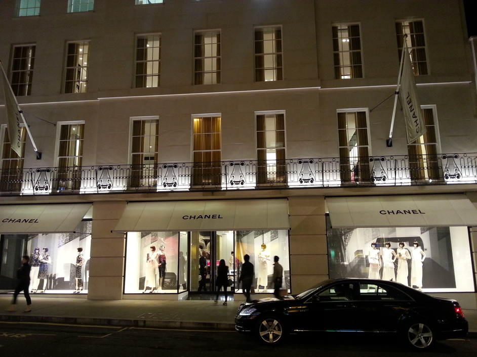 Clothing Stores On Bond Street London