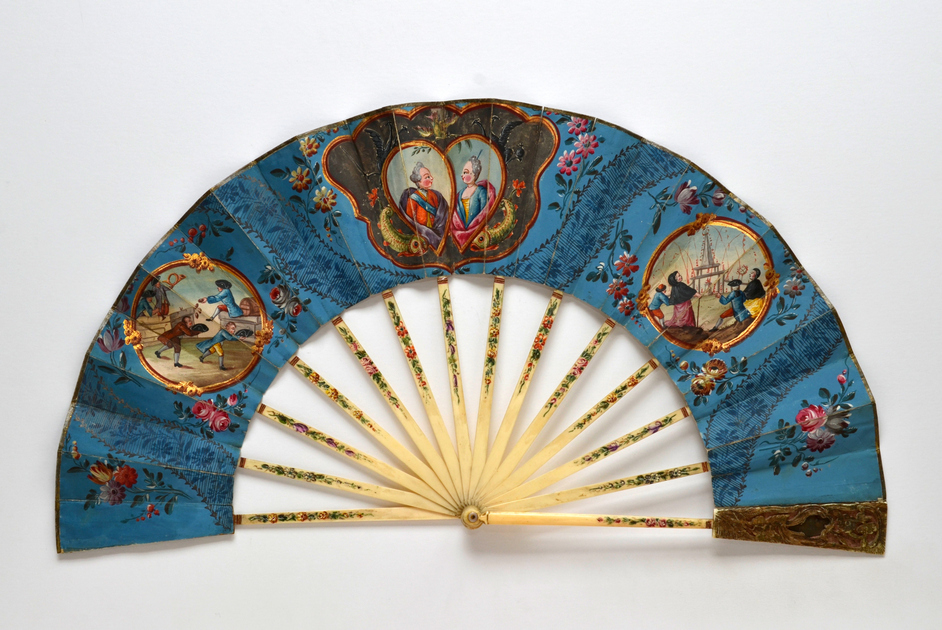 Hatch, Match & Despatch - The Marriage of the Dauphin French, c. 1770 The Fan Museum, HA Collection