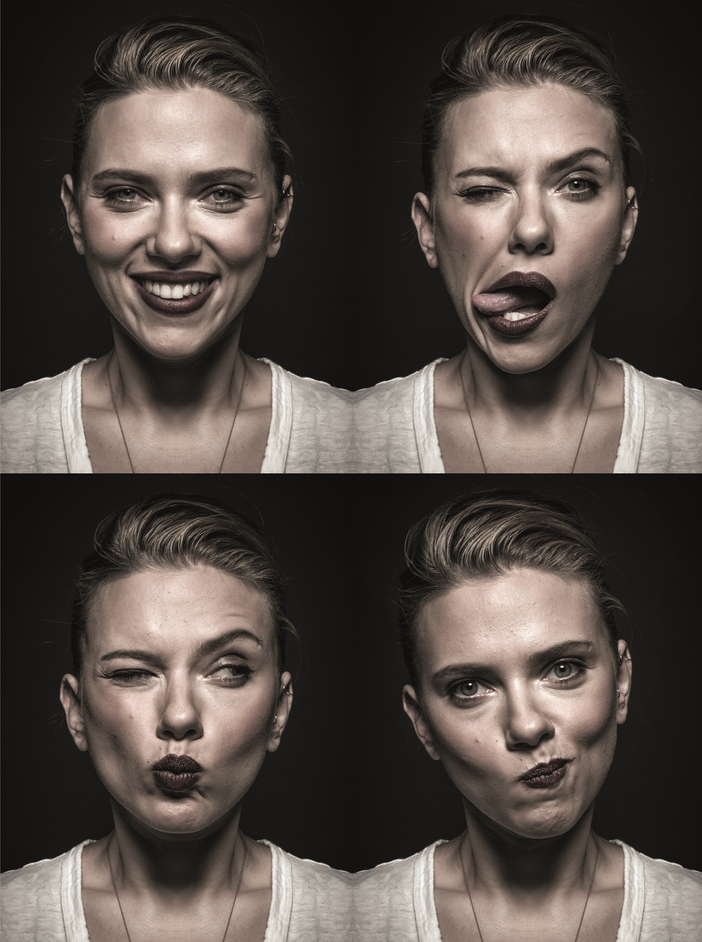 Behind the Mask - Scarlet Johannson (c) Andy Gotts