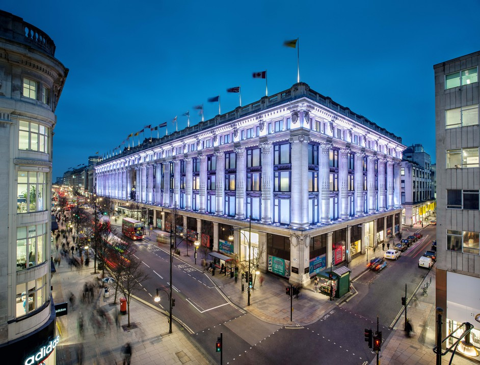 Selfridges - Photo credit: Andrew Meredith