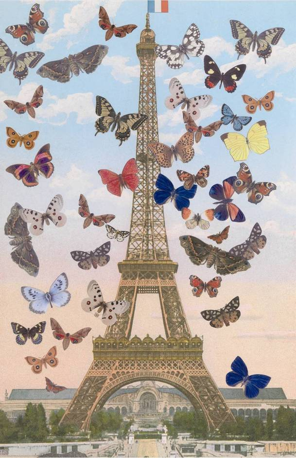 20/21 International Art Fair - Sir Peter Blake RA (b.1932) ?The Eiffel Tower?, 2009, silkscreen print, 670 x 440 mm