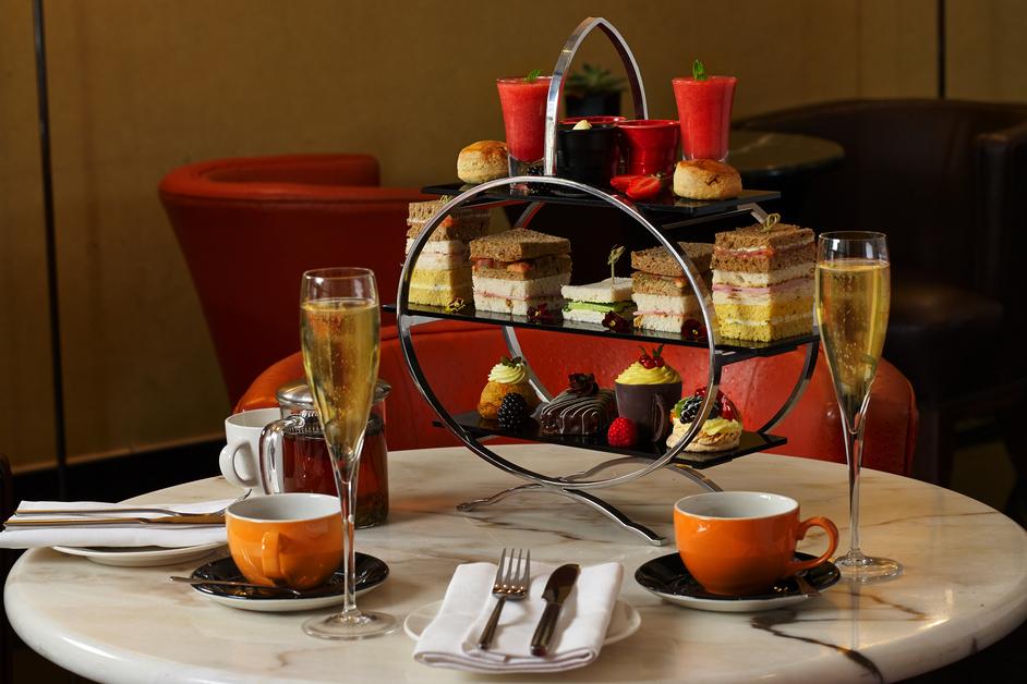 Afternoon Tea @ Tangerine Caf� Bar