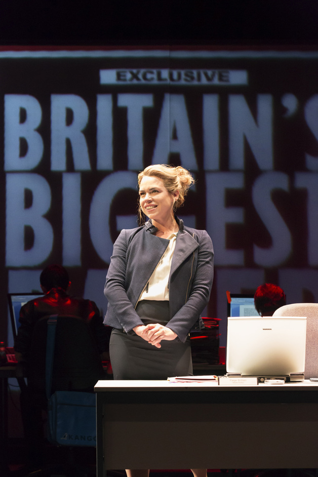 Table - Billie Piper as Paige Britain. Photo credit: Johan Persson