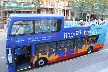 Hop on Hop off London Bus Tour - 24 Hour Ticket