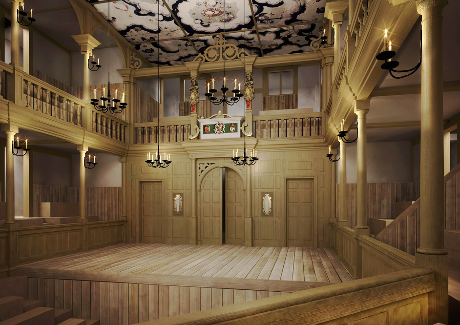 The Sam Wanamaker Theatre - CGI by Allies and Morrison
