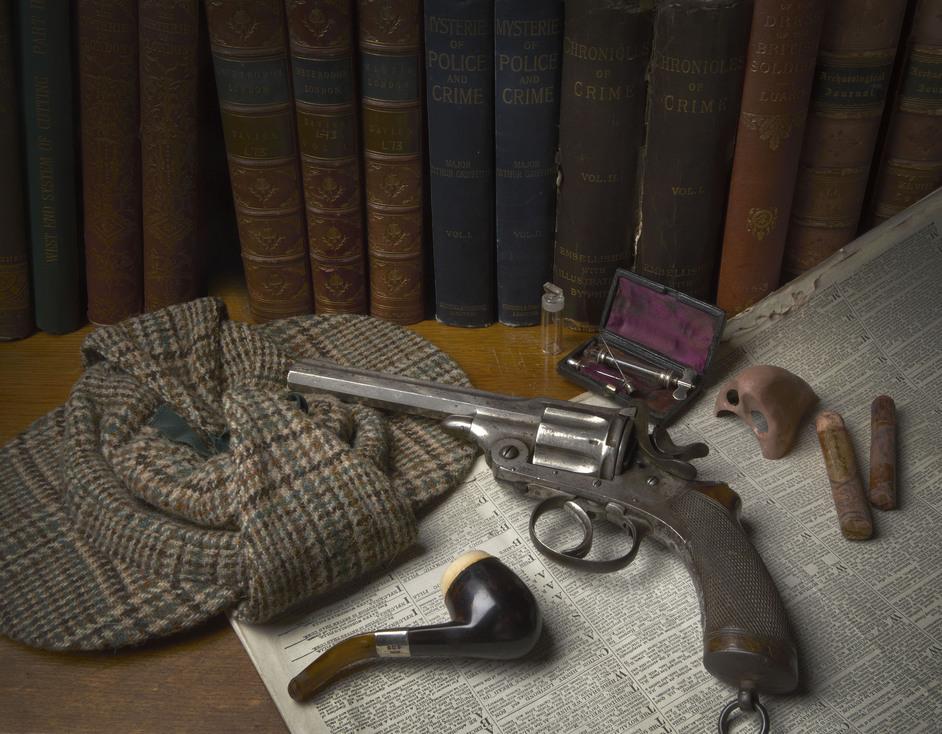 Sherlock Holmes - (c) Museum of London