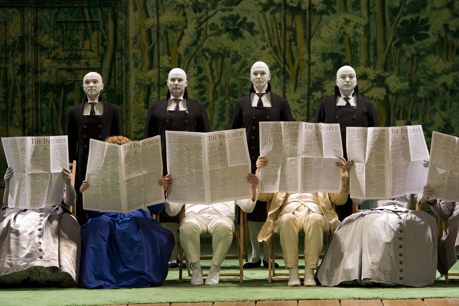 English National Opera: Xerxes - Image copyright: ENO, Clive Barda