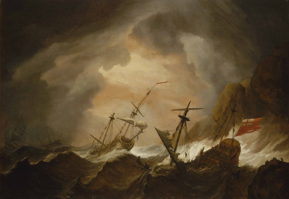 Ships, Clocks and Stars: the Quest for Longitude - Two English Ships ©National Maritime Museum