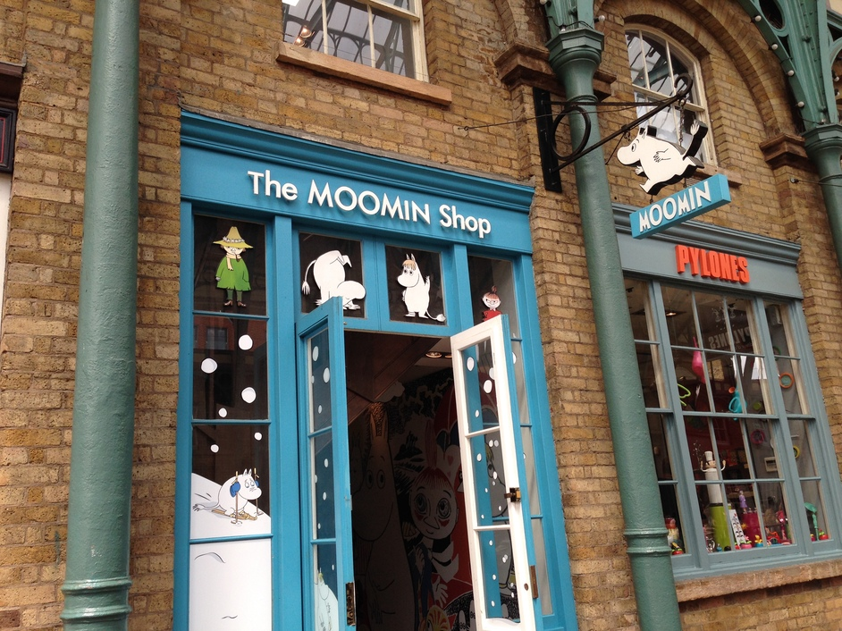 The Moomin Shop, Covent Garden Market, London | Shopping/Gifts and ...
