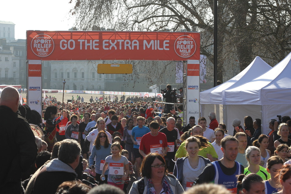 Sport Relief At Queen Elizabeth Olympic Park London