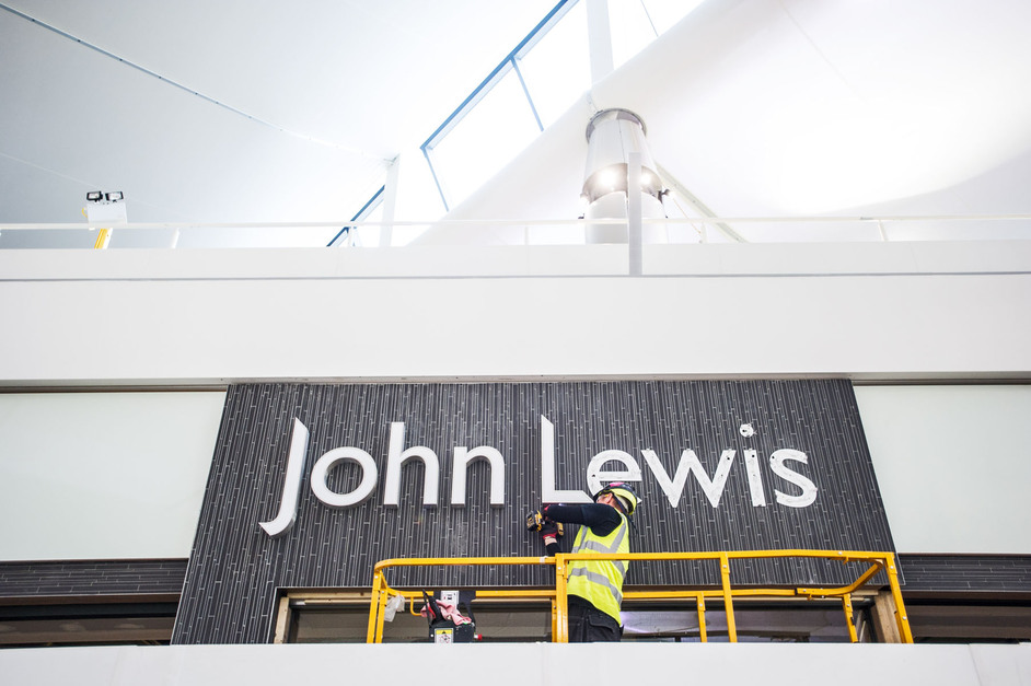 Heathrow Terminal 2 | The Queen's Terminal - John Lewis fit out, image copyright Heathrow Airports Limited